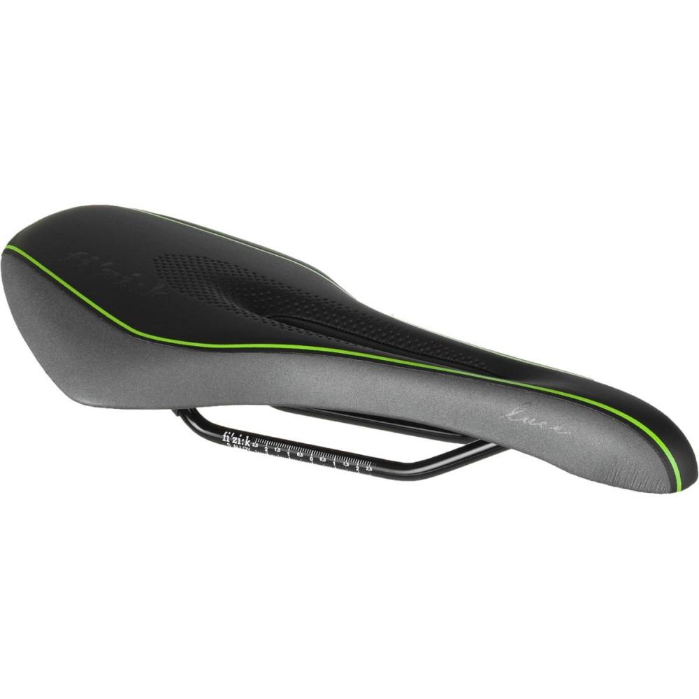 フィジーク レディース 自転車 サドル【Luce Manganese Saddle】Black/Lime