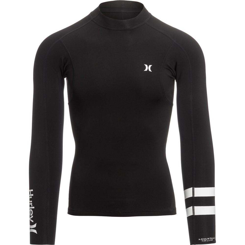 ハーレー メンズ 水着・ビーチウェア ラッシュガード【Advantage Plus 1/1 Jackets】Black