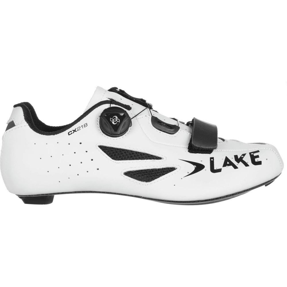 レイク メンズ 自転車 シューズ・靴【CX218 Cycling Shoes】White