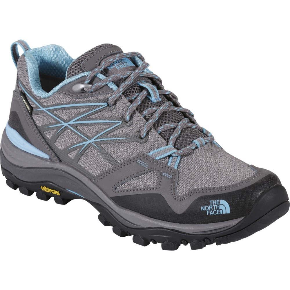 ザ ノースフェイス レディース ハイキング・登山 シューズ・靴【Hedgehog Fastpack GTX Hiking Shoe】Dark Gull Grey/Fortuna Blue