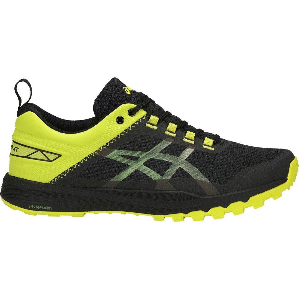 アシックス メンズ ランニング・ウォーキング シューズ・靴【Gecko XT Trail Running Shoes】Black/Carbon/Sulphur Spring