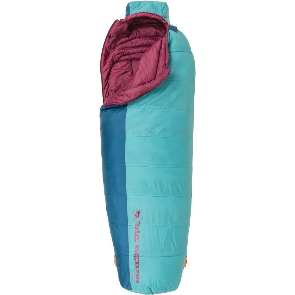 ビッグアグネス レディース ハイキング・登山【Slavonia Sleeping Bag: 30 Degree Synthetic】Green/Blue