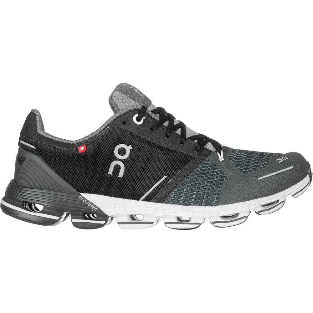 オン メンズ ランニング・ウォーキング シューズ・靴【Cloudflyer Running Shoes】Black/White