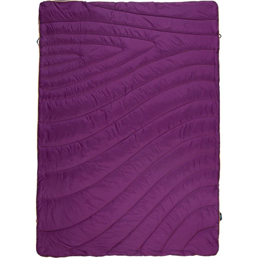 ルンプル レディース 雑貨【The Fleece Puffy Throw Blanket】Iris Purple/Dusty Rose