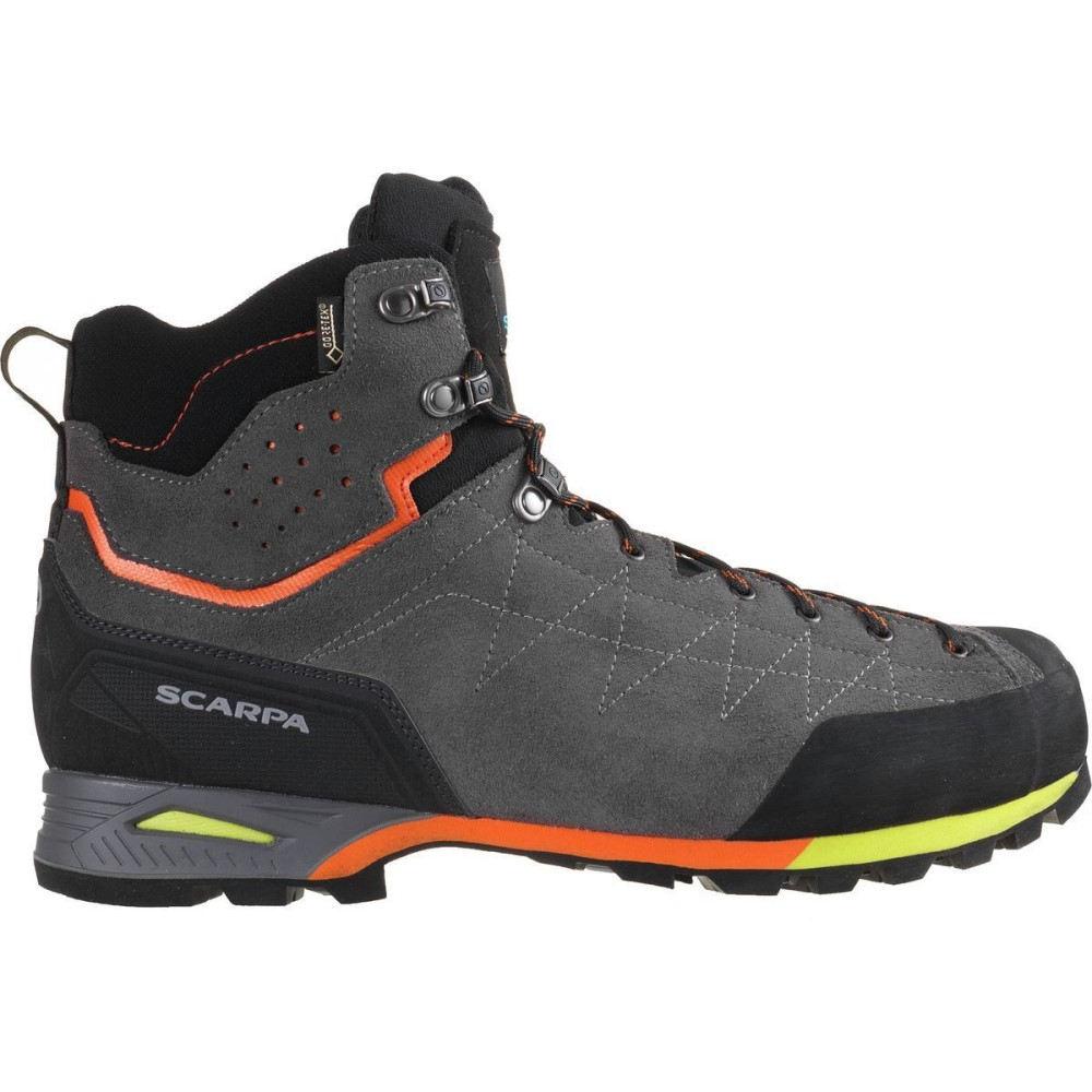スカルパ メンズ ハイキング・登山 シューズ・靴【Zodiac Plus GTX Backpacking Boots】Shark/Orange