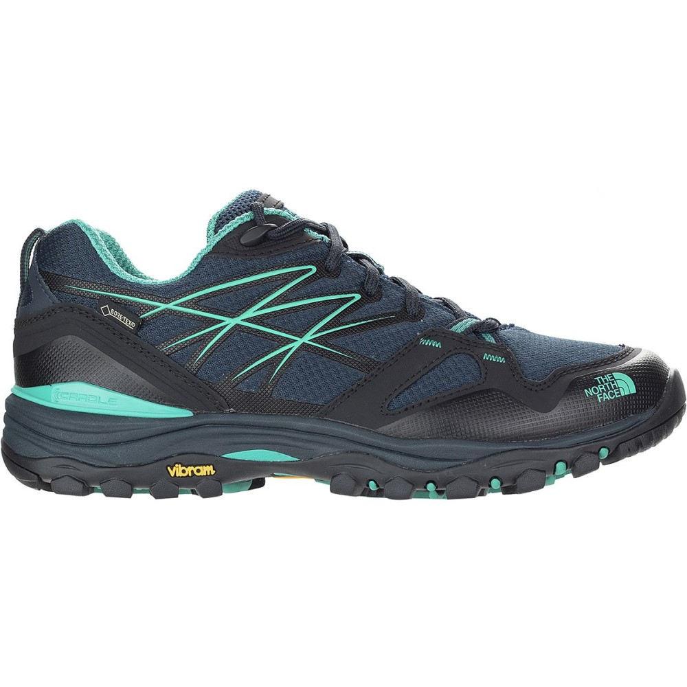 ザ ノースフェイス レディース ハイキング・登山 シューズ・靴【Hedgehog Fastpack GTX Hiking Shoe】Urban Navy/Porcelain Green