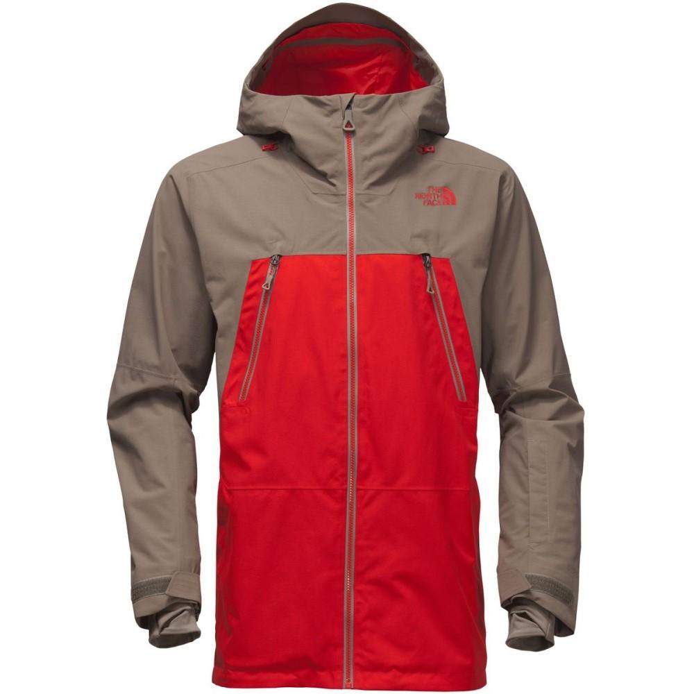 ザ ノースフェイス メンズ スキー・スノーボード アウター【Lostrail Hooded Jackets】Centennial Red/Falcon Brown
