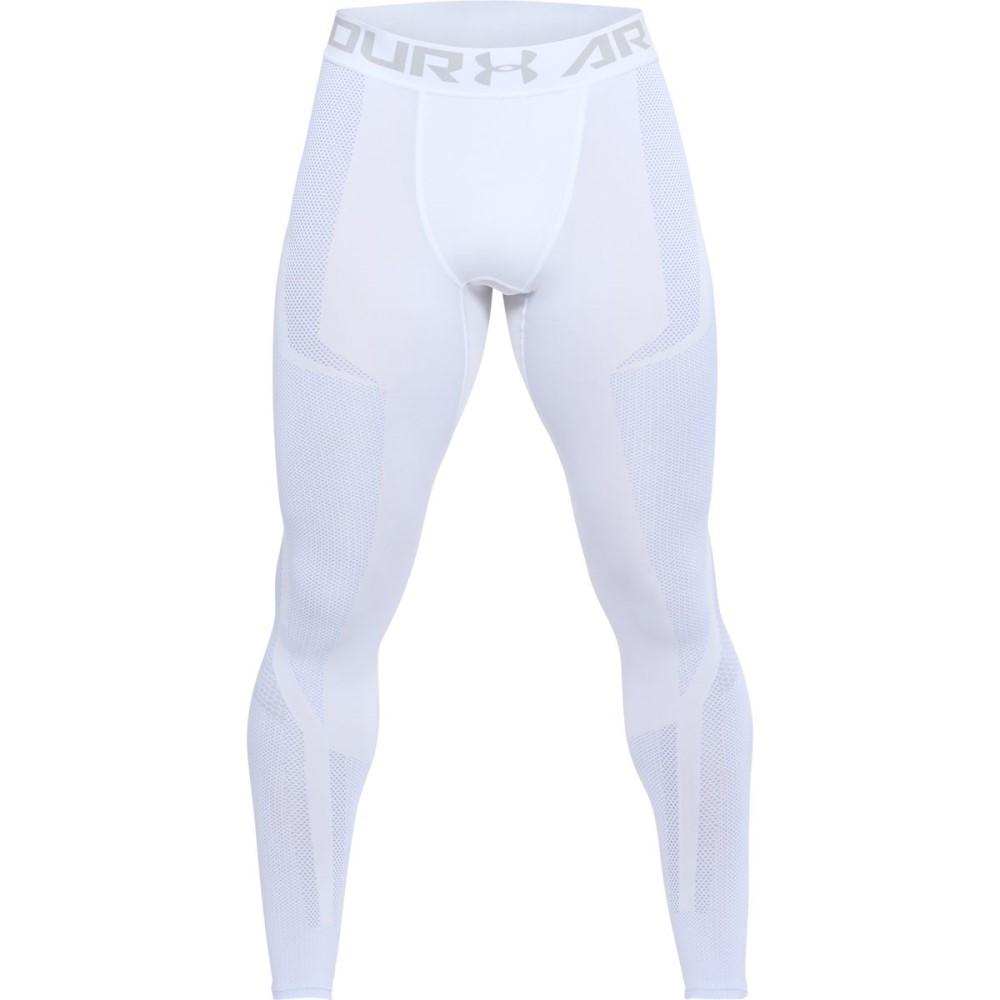 アンダーアーマー メンズ インナー・下着 タイツ・スパッツ【Threadborne Seamless Leggings】White/Overcast Gray