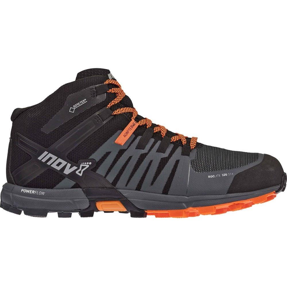 最適な価格 イノヴェイト GTX メンズ 320 ハイキング・登山 シューズ・靴 Hiking【RocLite 320 GTX Hiking Boots】Black/Grey/Orange, 高橋芳郎タンス店:0bea336e --- pokemongo-mtm.xyz