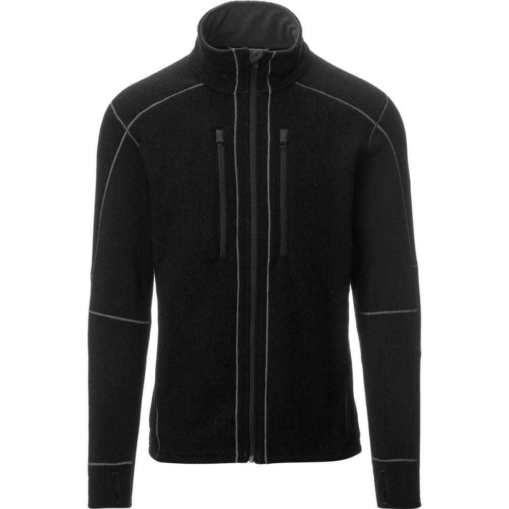 キュール メンズ トップス フリース【Interceptr Fleece Jackets】Black