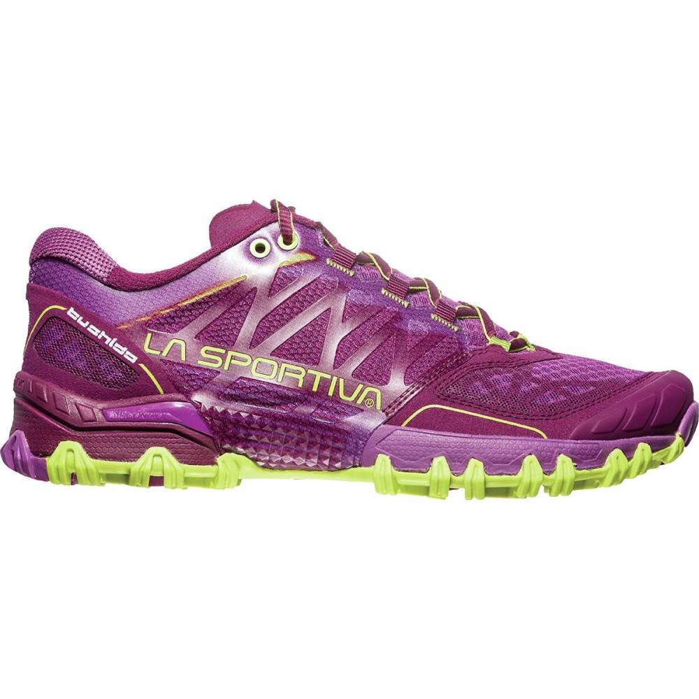 ラスポルティバ レディース ランニング・ウォーキング シューズ・靴【Bushido Trail Running Shoe】Plum/Apple Green