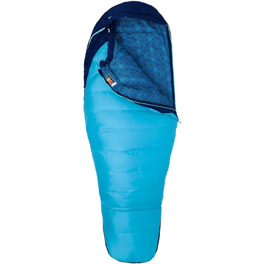 マーモット レディース ハイキング・登山【Trestles 15 Sleeping Bag: 15 Degree Synthetic】French Blue/Harbor Blue