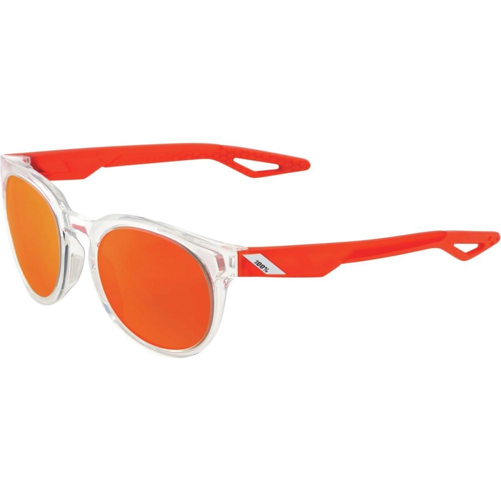 激安特価 ヒャクパーセント レディース スポーツサングラス【Campo レディース Sunglasses Lens】Polished Crystal Clear Clear W/Orange Multilayer Mirror Lens, 値段が激安:ebb92fcc --- canoncity.azurewebsites.net
