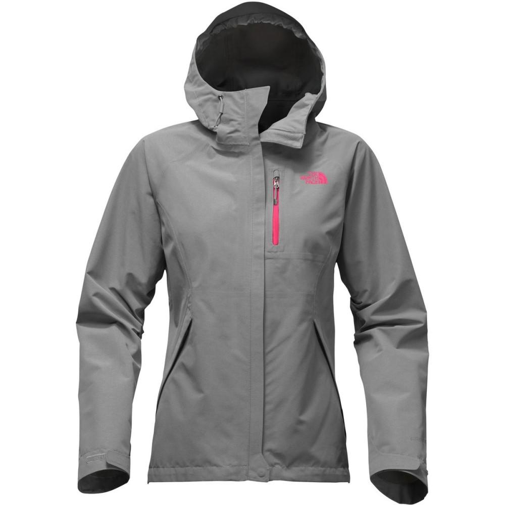 ザ ノースフェイス レディース アウター レインコート【Dryzzle Hooded Jacket】Tnf Medium Grey Heather