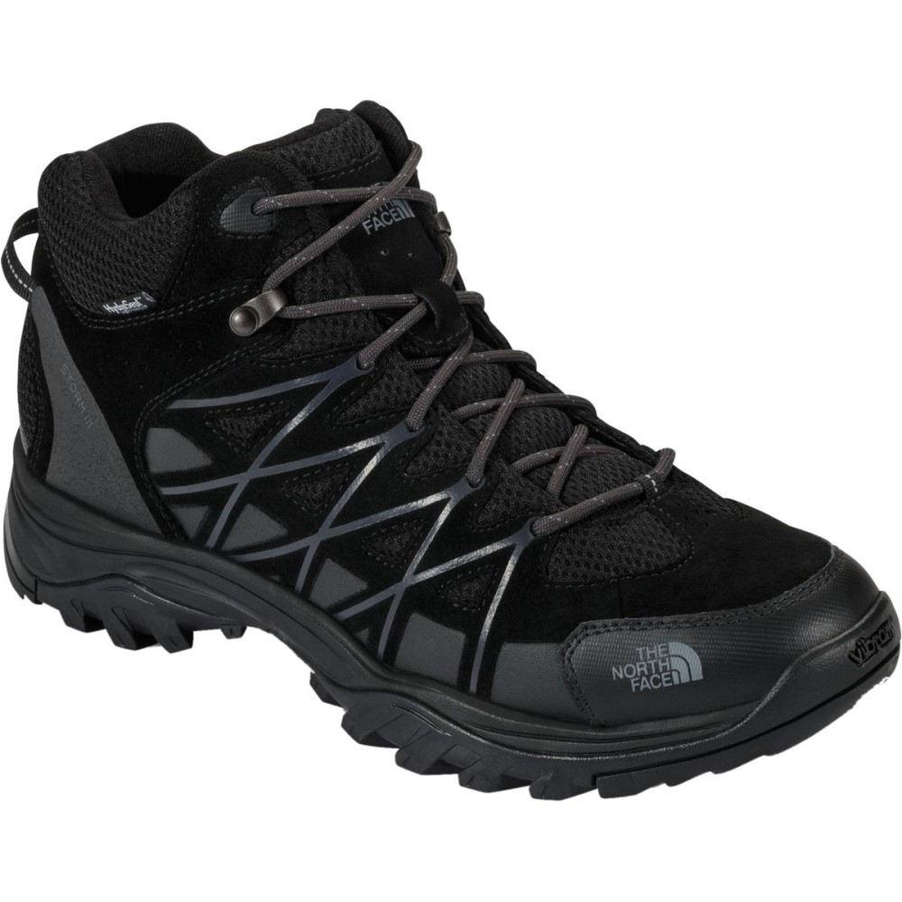 ザ ノースフェイス メンズ ハイキング・登山 シューズ・靴【Storm III Mid Waterproof Hiking Boots】Tnf Black/Phantom Grey
