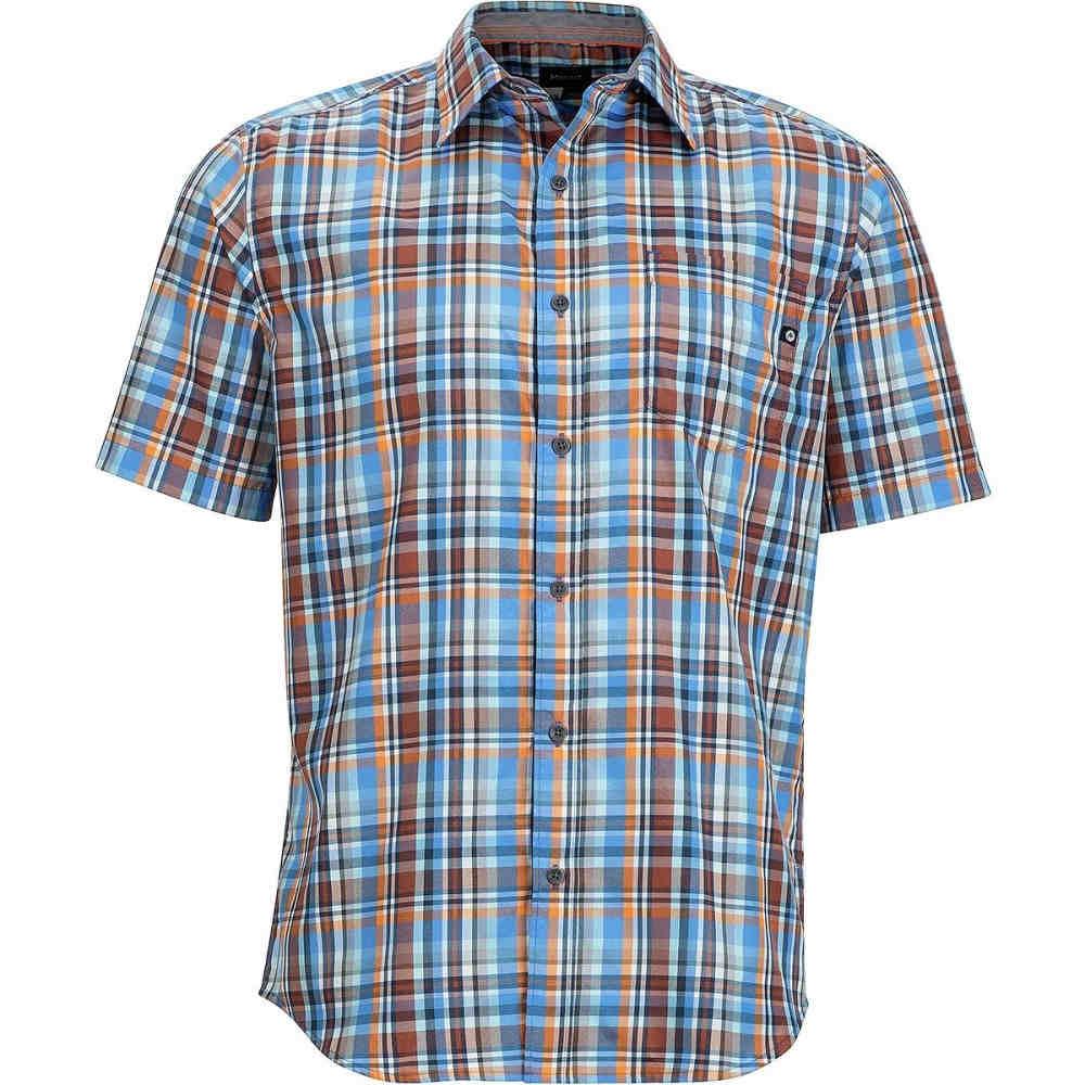 マーモット メンズ トップス 半袖シャツ【Dobson Shirts】Lakeside