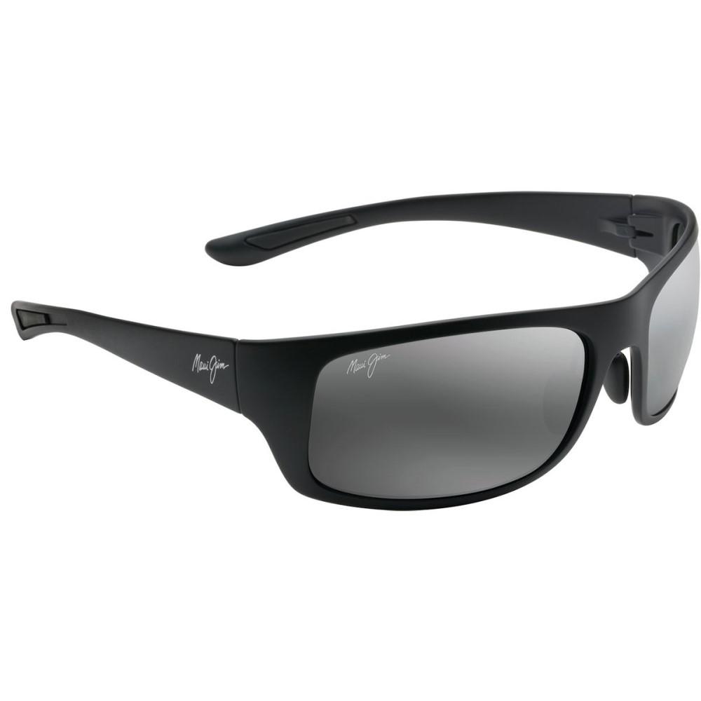 マウイジム レディース スポーツサングラス【Big Wave Polarized Sunglasses】Matte Black