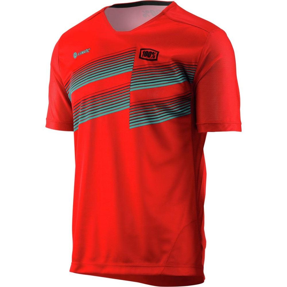 ヒャクパーセント メンズ 自転車 トップス【Airmatic Jerseys】Red