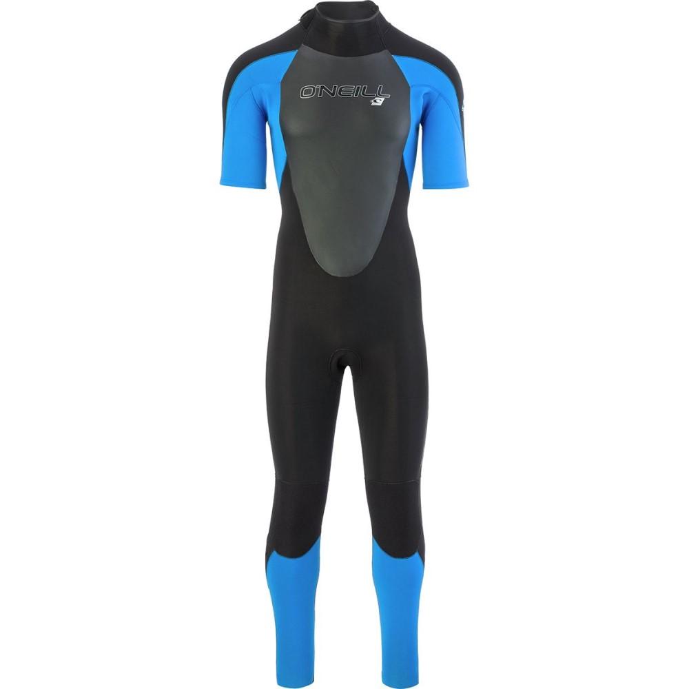 オニール メンズ 水着・ビーチウェア ウェットスーツ【Epic 2mm Back Zip Short - Sleeve Full Spring Suits】Black/Ocean/Black