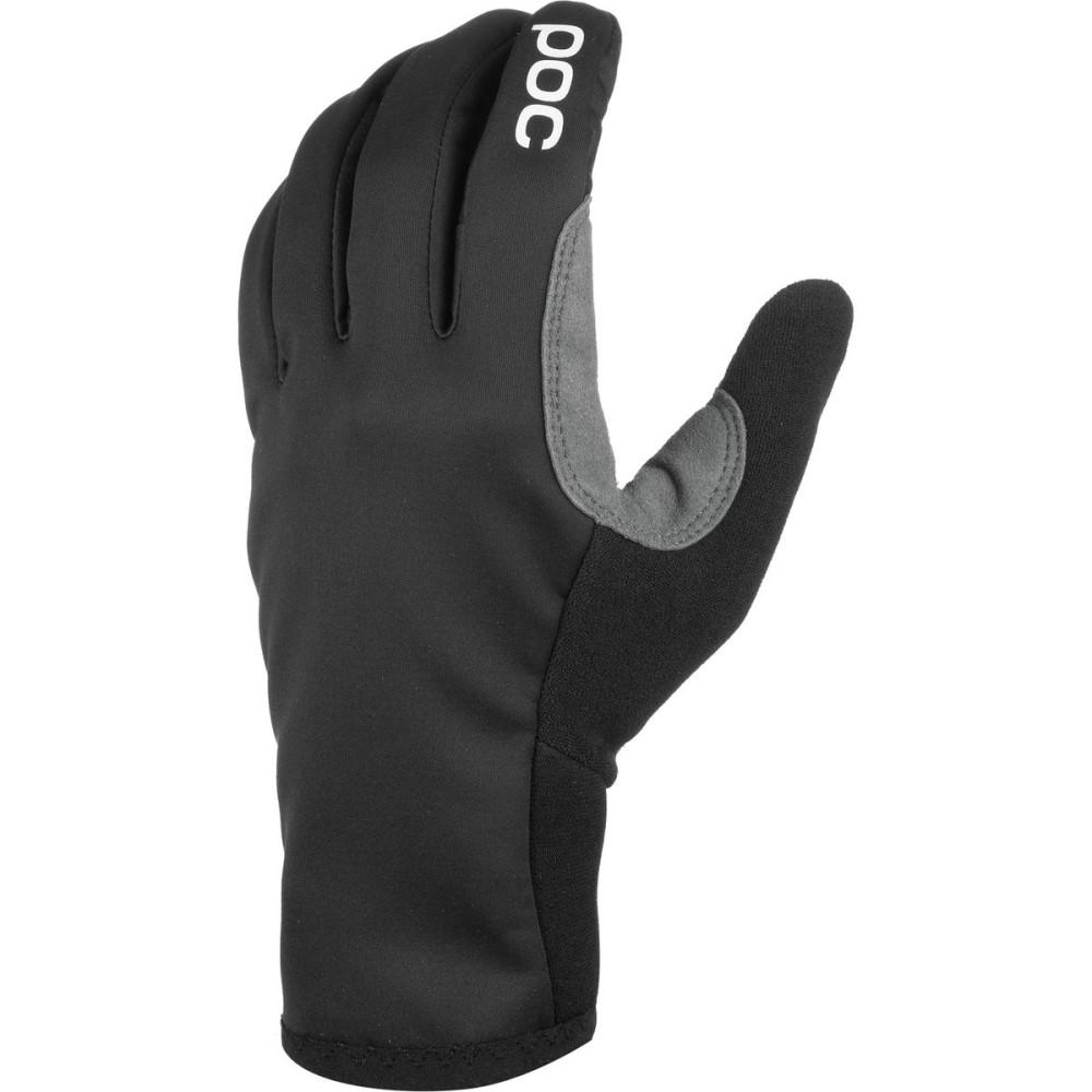 ピーオーシー メンズ 自転車 グローブ【Resistance Softshell Glove】Uranium Black