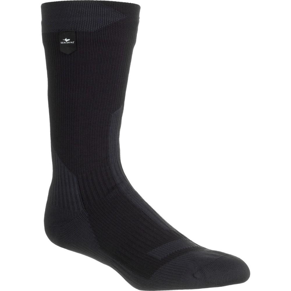 シールスキンズ レディース ハイキング・登山【Trekking Mid Length Waterproof Merino Sock】Black/Anthracite