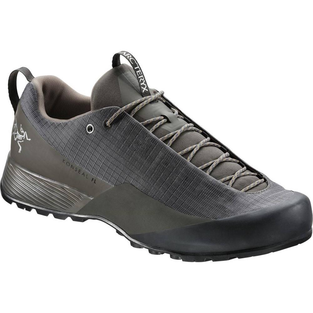 アークテリクス メンズ ハイキング・登山 シューズ・靴【Konseal FL Approach Shoes】Shark/Utility