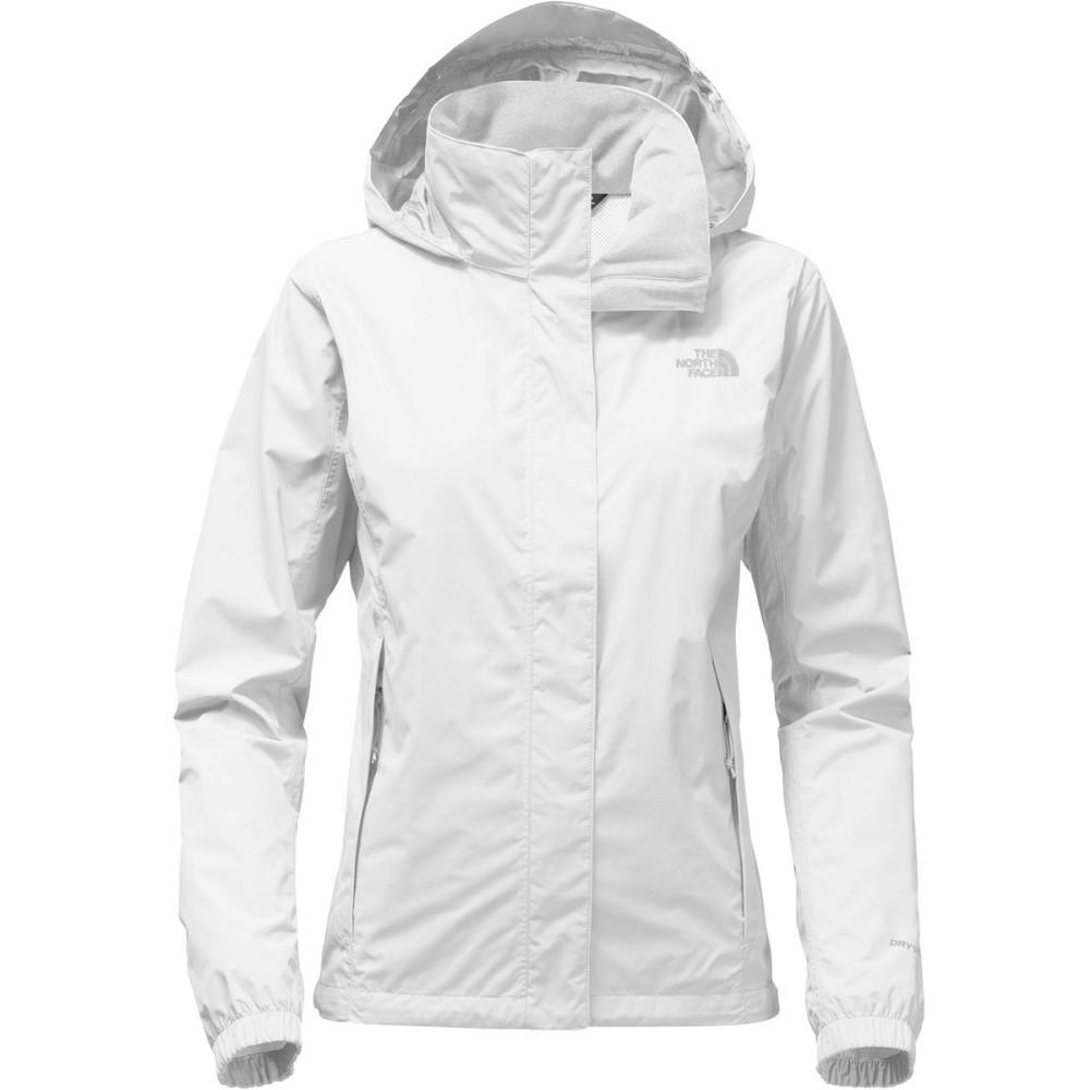 ザ ノースフェイス レディース アウター レインコート【Resolve 2 Hooded Jacket】Tnf White/High Rise Grey