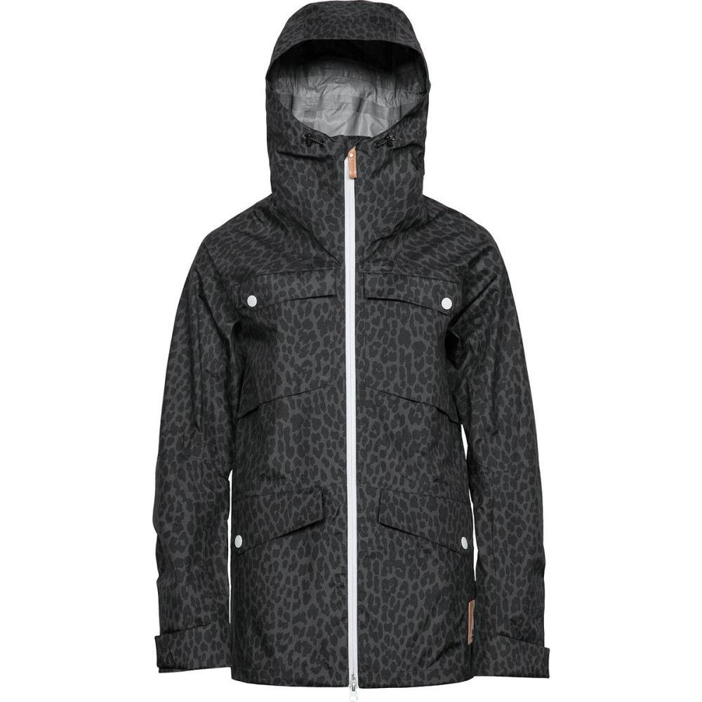 ウェアーカラー レディース スキー・スノーボード アウター【Lynx Jacket】Black 2