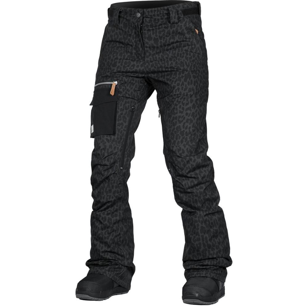 ウェアーカラー レディース スキー・スノーボード ボトムス・パンツ【Slant Pant】Black