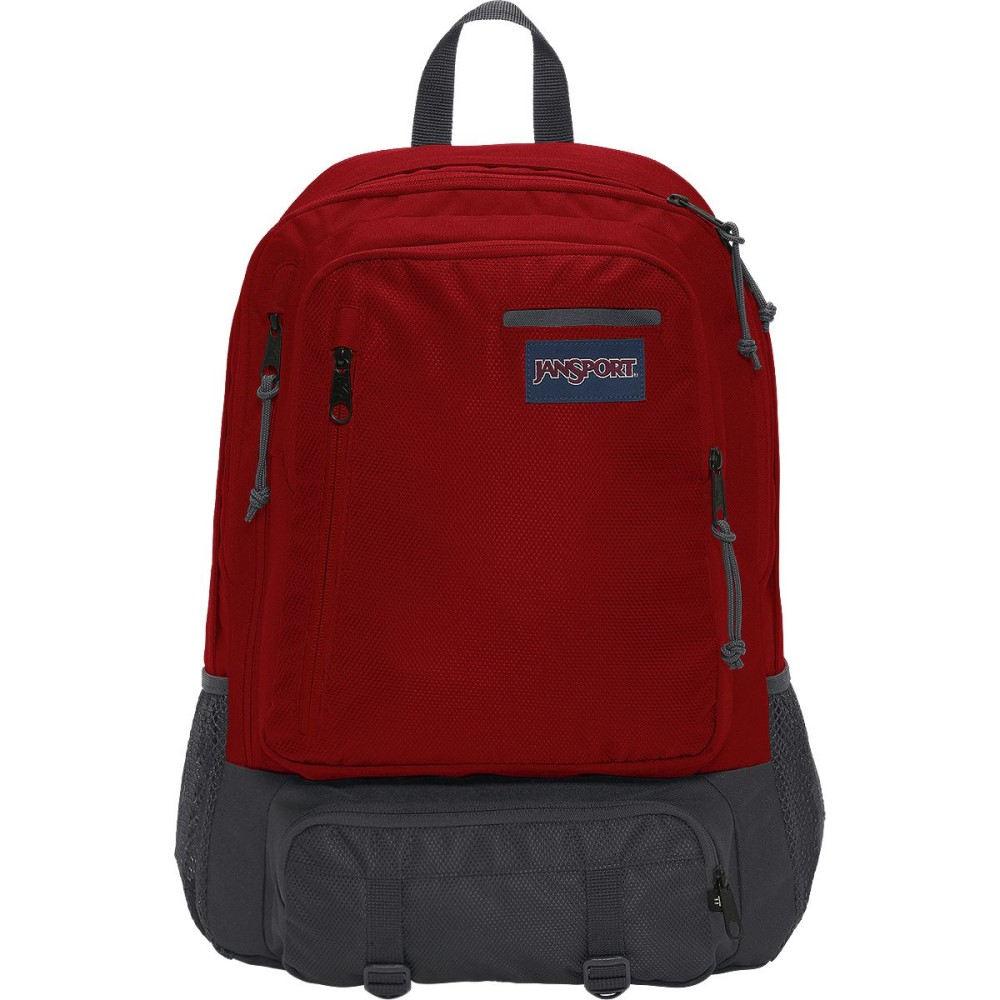 ジャンスポーツ レディース バッグ バックパック・リュック【Envoy 26L Backpack】Forge Grey Triangle Dobby