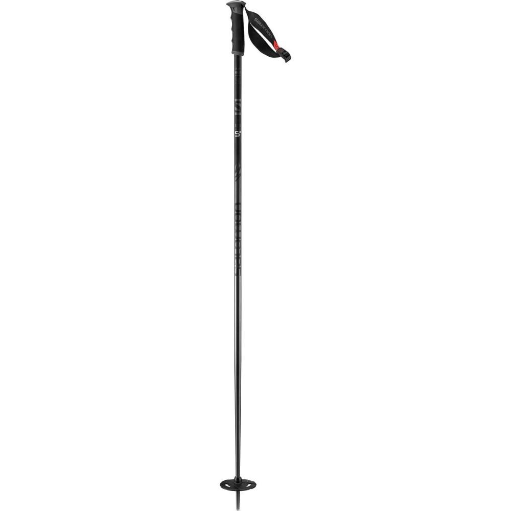 サロモン メンズ スキー・スノーボード【Hacker S3 Ski Pole】Black