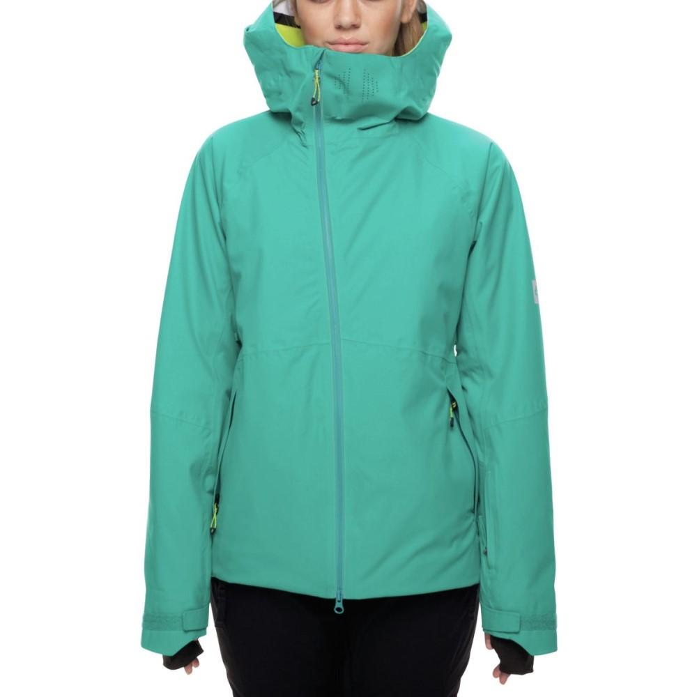 シックス エイト シックス レディース スキー・スノーボード アウター【Hydra GLCR Insulated Jacket】Teal Twill