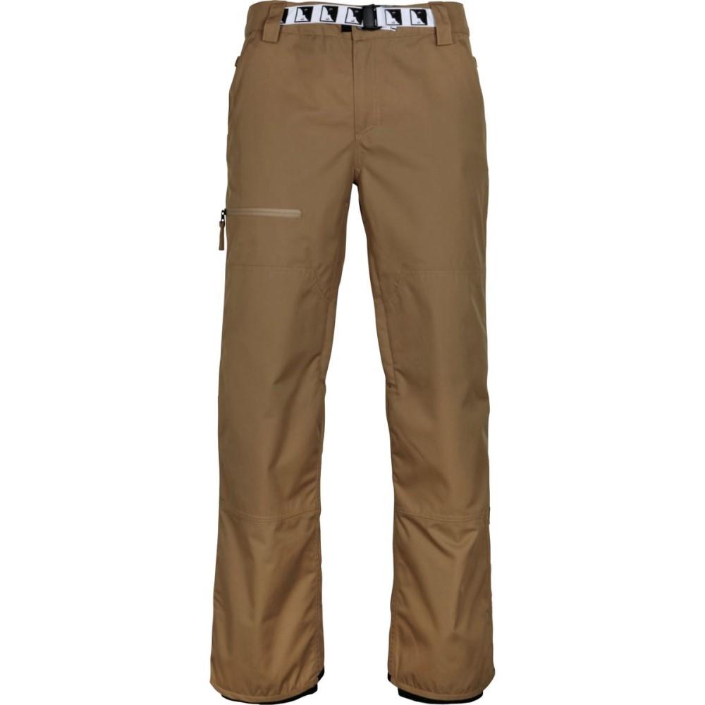 シックス エイト シックス メンズ スキー・スノーボード ボトムス・パンツ【Durable Double Knee Pants】Khaki