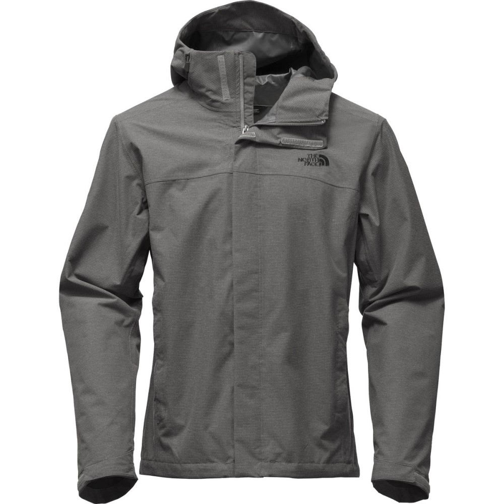 ザ ノースフェイス メンズ アウター レインコート【Venture 2 Hooded Jackets】Mid Grey Ripstop Heather/Mid Grey Ripstop Heather