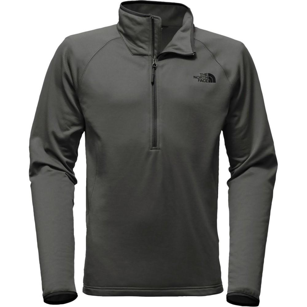 ザ ノースフェイス メンズ トップス フリース【Borod 1/4 - Zip Fleece Jackets】Asphalt Grey
