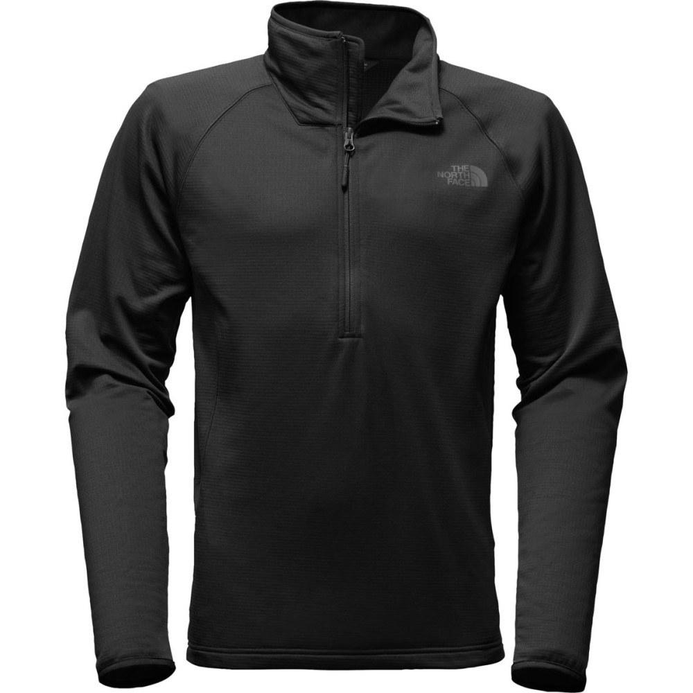 ザ ノースフェイス メンズ トップス フリース【Borod 1/4 - Zip Fleece Jackets】Tnf Black