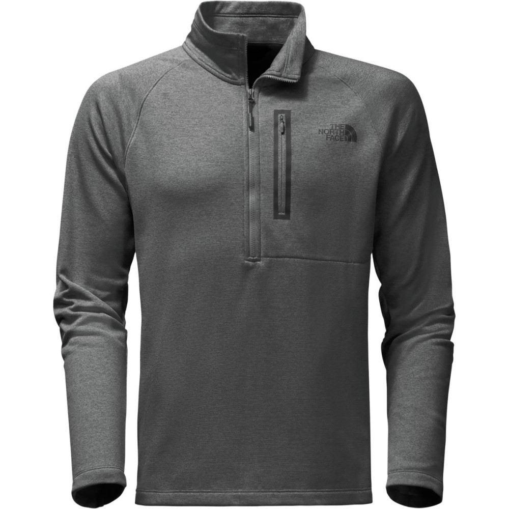 ザ ノースフェイス メンズ トップス フリース【Canyonlands 1/2 - Zip Pullover Fleece Jackets】Tnf Medium Grey Heather