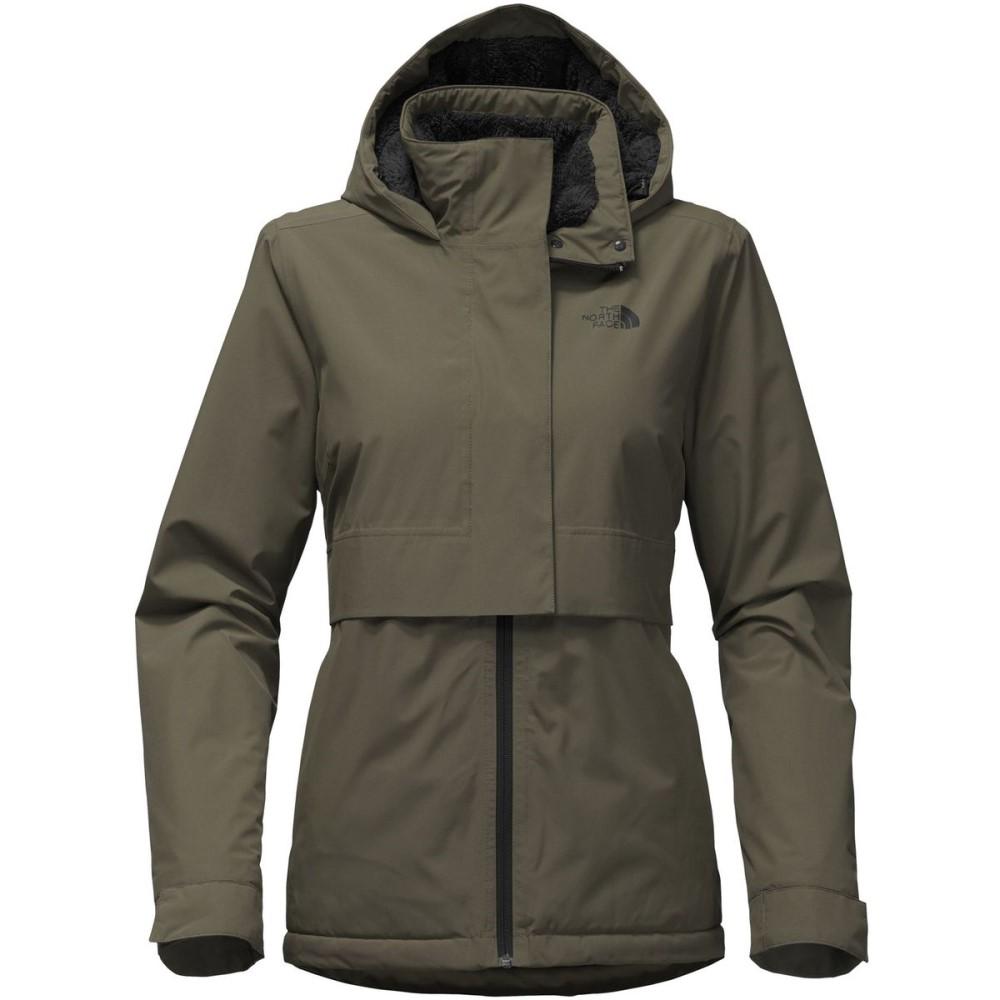 ザ ノースフェイス レディース アウター レインコート【Morialta Hooded Jacket】New Taupe Green
