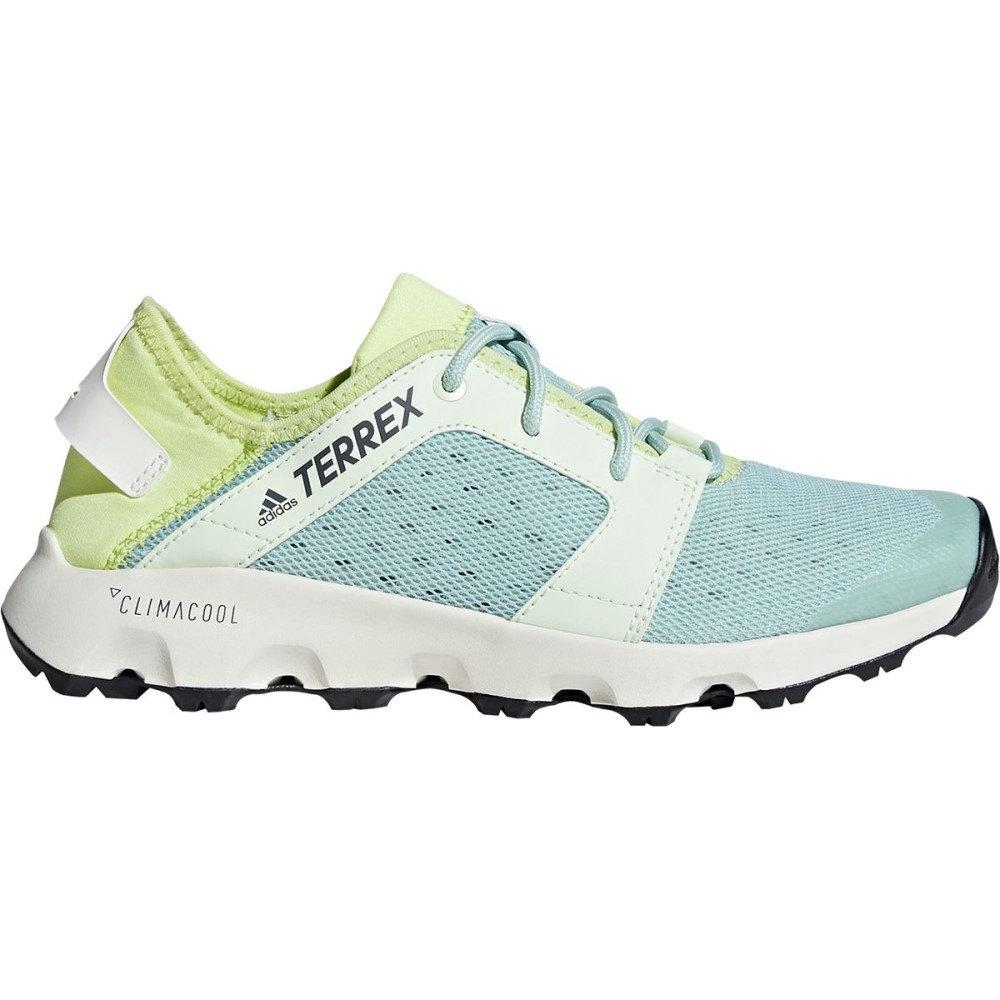 アディダス レディース シューズ・靴 ウォーターシューズ【Terrex Climacool Voyager Sleek Shoe】Ash Green/Aero Green/Semi Frozen Yellow