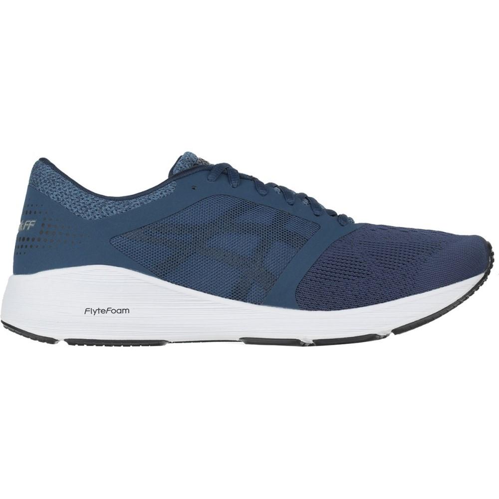 アシックス メンズ ランニング・ウォーキング シューズ・靴【Roadhawk FF Running Shoes】Dark Blue/Black/White