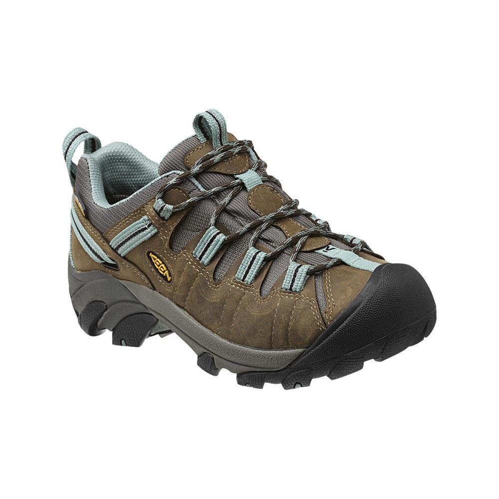 キーン レディース ハイキング・登山 シューズ・靴【Targhee II Hiking Shoe】Black Olive/Mineral Blue