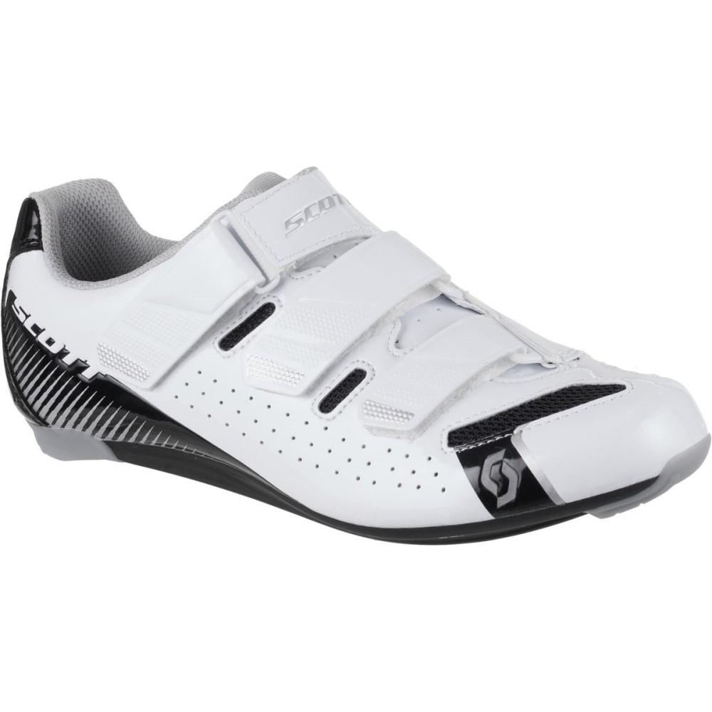 スコット レディース 自転車 シューズ・靴【Road Comp Lady Shoe】Gloss White/Gloss Black