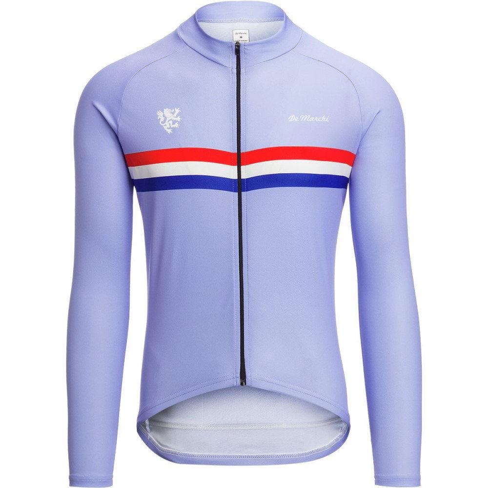 デマルキ メンズ 自転車 トップス【Euro Nationals Light Weight Jerseys - Limited Editions】Light Blue