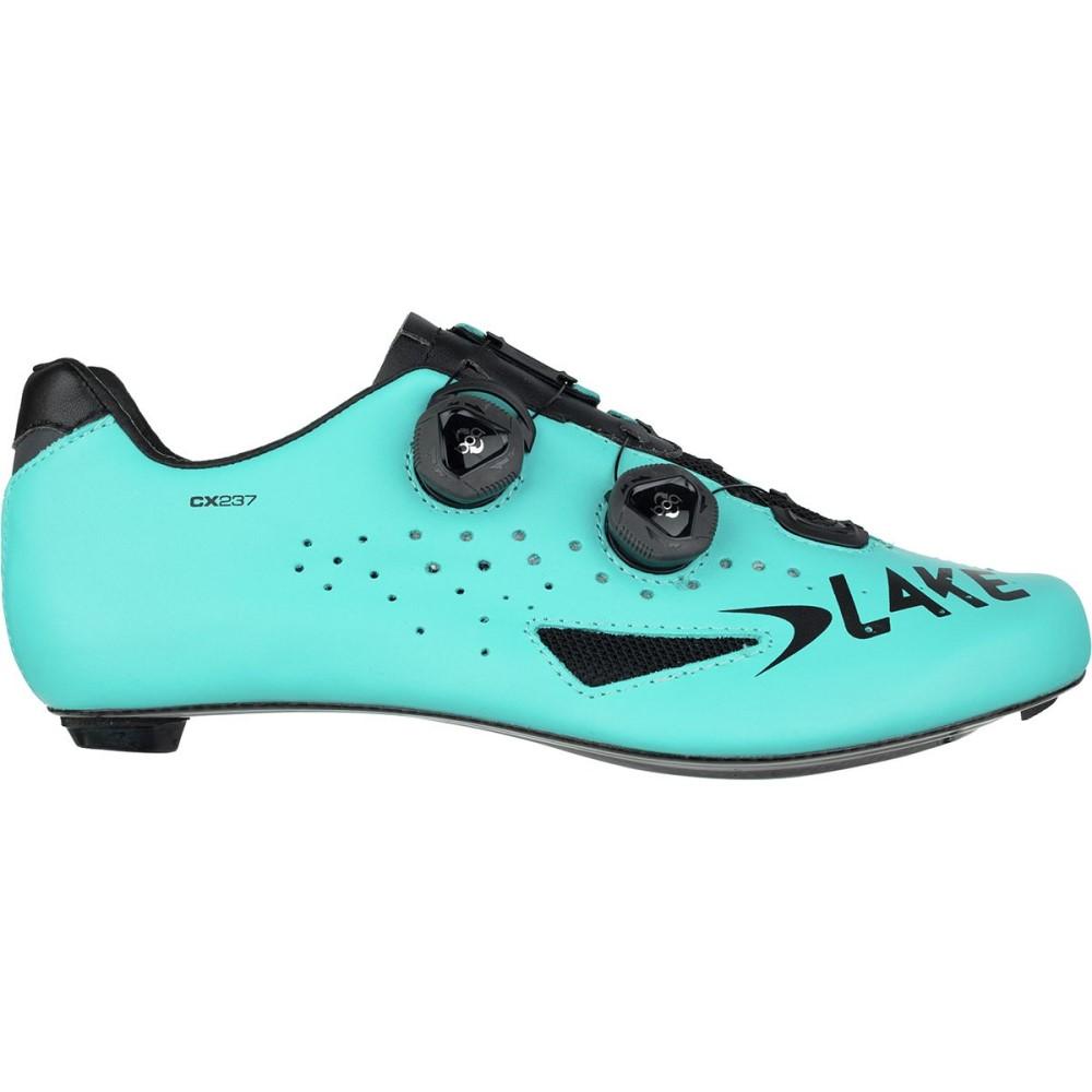 レイク メンズ 自転車 シューズ・靴【CX237 Road Shoess】Blue/Black