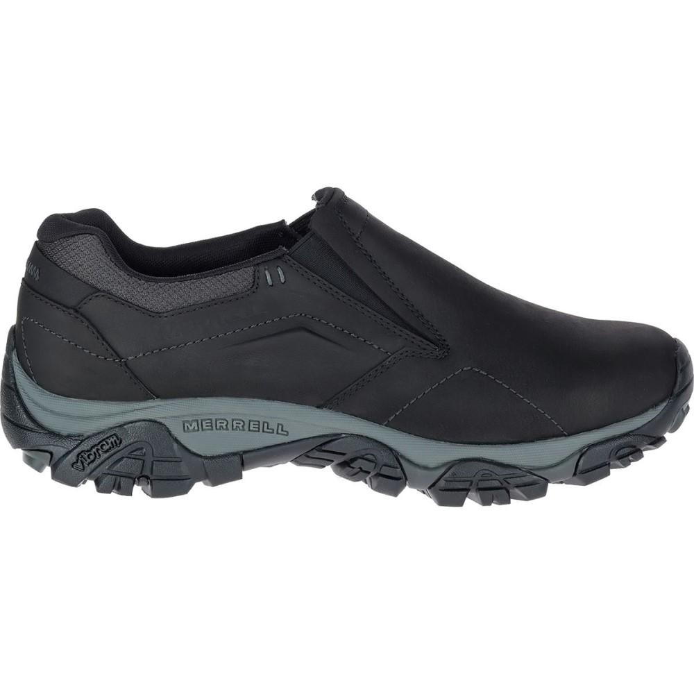 メレル メンズ シューズ・靴【Moab Adventure Mocs】Black