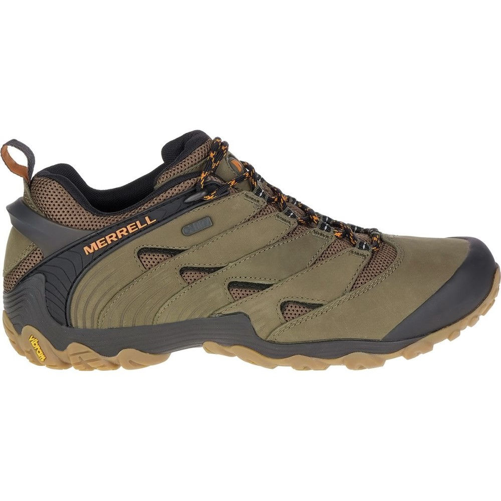 保障できる メレル Shoes】Dusty メンズ Waterproof ハイキング・登山 シューズ・靴 7【Chameleon 7 Waterproof Hiking Shoes】Dusty Olive, 爽ケア:5ddc5b80 --- business.personalco5.dominiotemporario.com