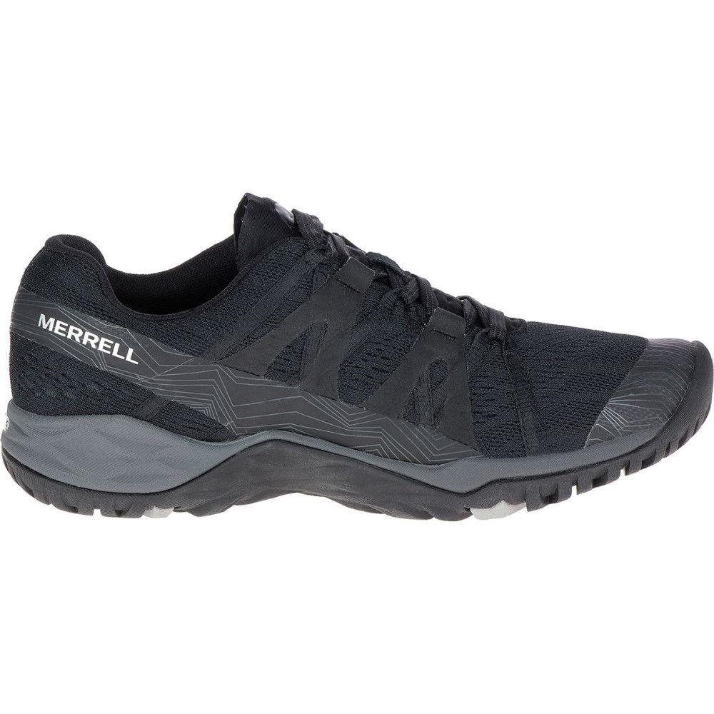 メレル レディース ハイキング・登山 シューズ・靴【Siren Hex Q2 E - Mesh Hiking Shoe】Super Black