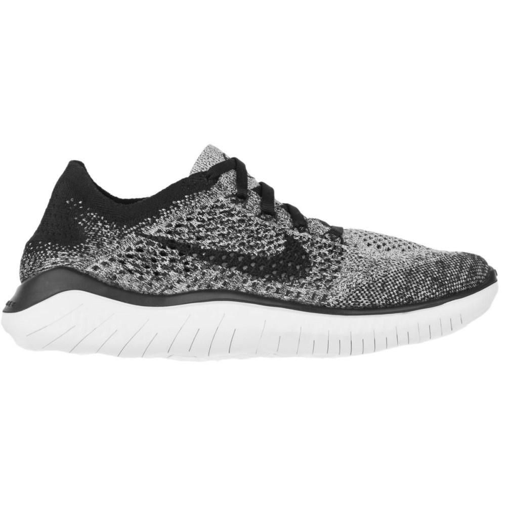 ナイキ レディース ランニング・ウォーキング シューズ・靴【Free RN Flyknit Running Shoe】White/Black