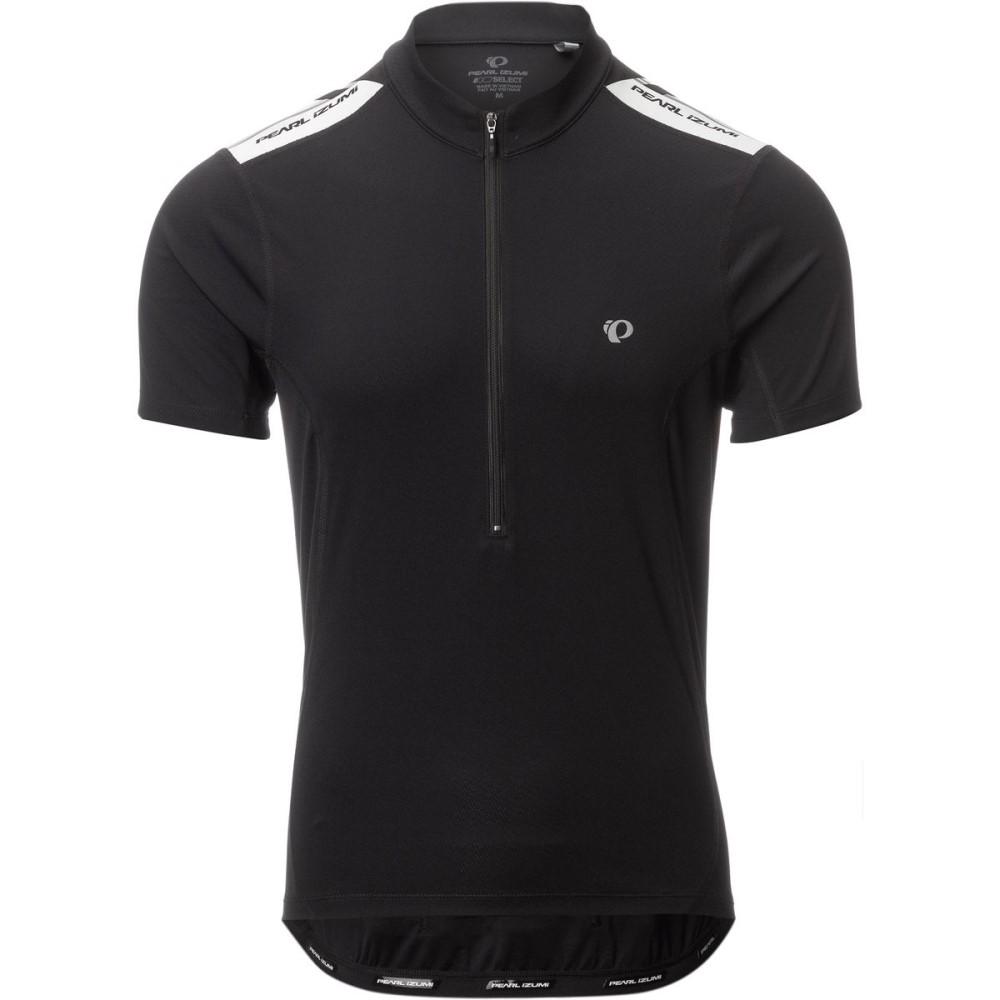 パールイズミ メンズ 自転車 トップス【Quest Short - Sleeve Jerseys】Black/Black