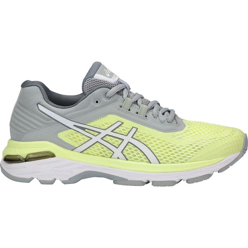 アシックス レディース ランニング・ウォーキング シューズ・靴【GT - 2000 6 Running Shoe】Limelight/White/Mid Grey